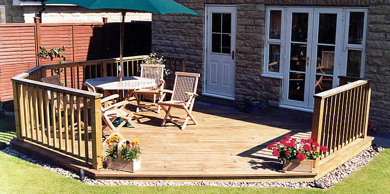 highest quality decking  materials